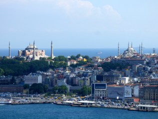 Old Istanbul from the Galata Tower.