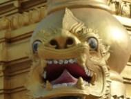 Temple detail.