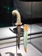 Jewelled dagger.