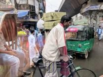 Old Dhaka street.