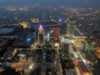 Taipei 101 view.