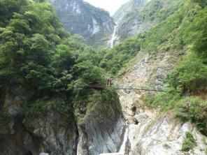 Taroko Gorge - waterfalls.