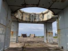 Apollo launch pad.