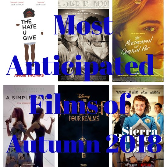 most anticipated films of autumn 2018