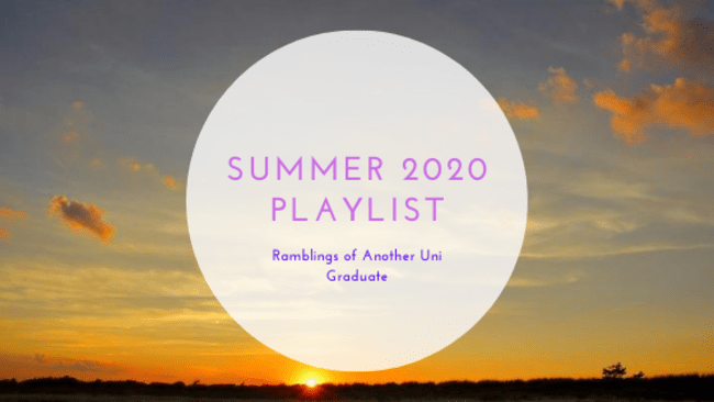 Summer 2020 Playlist