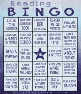 Reading Bingo Challenge