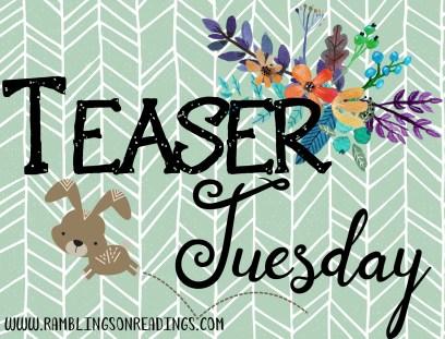 Teaser Tuesday 3
