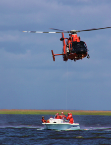 Coast Guard engaging in training exercises.