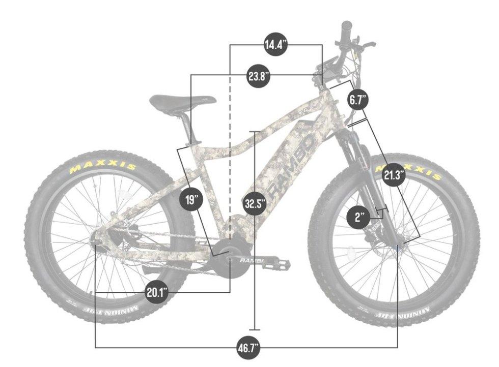 Rambo Bushwacker 750 Electric Hunting Bike