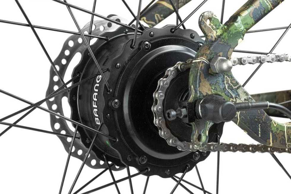 Rambo Krusader 500w AWD Electric Bike motor