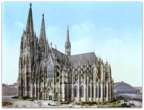 Der Kölner Dom um 1900