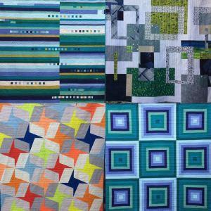 Custom Handmade Quilt Mid Century Modern selection