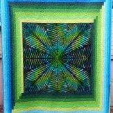 Barefoot Modern Quilt Handmade