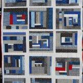 Breezeway Modern Quilt Handmade