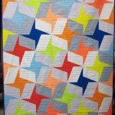 Custom Fling Modern Quilt Handmade