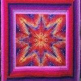 Custom Tye Dye Modern Quilt Handmade