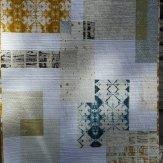 Gold Rush Modern Quilt Handmade