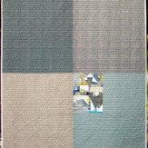 Inclusion back Modern Quilt Handmade