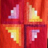 Juice Fruit Modern Quilt Handmade