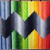 Mercury Rising Modern Quilt Handmade