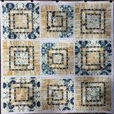 Mica Modern Quilt Handmade