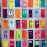 Neighbors Modern Quilt Handmade
