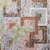 Passport Modern Quilt Handmade