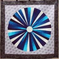 Pi Modern Quilt Handmade