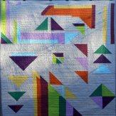 Shapes Modern Quilt Handmade