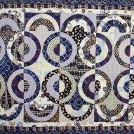 Spin Modern Quilt Handmade