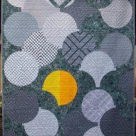 Sunbreak Modern Quilt Handmade