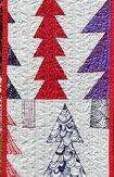 Tinsel Town Modern Quilt Table Runner Handmade