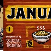 2012 ramen papercraft calendar