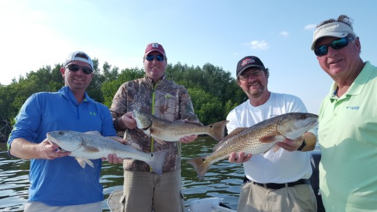 Redfish Fishing Trip