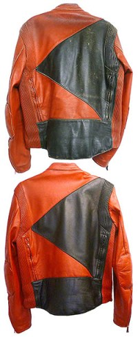 Ram Leather Care cleans motocross jackets