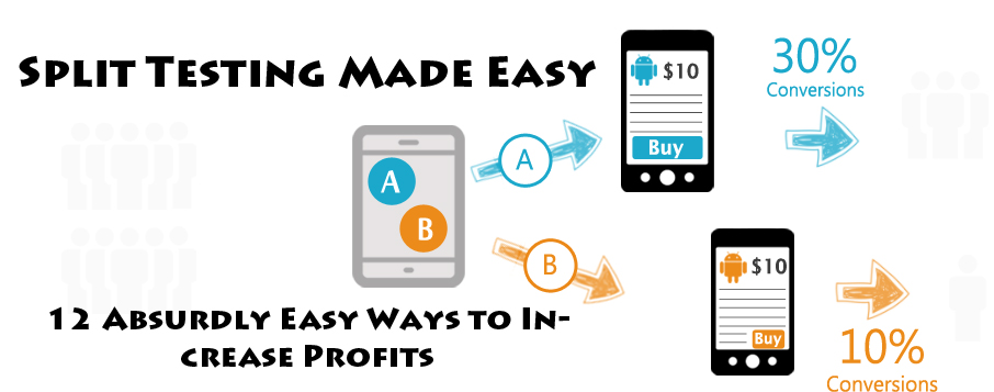 Split Testing Made Easy:12 Absurdly Easy Ways to Increase Profits