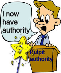 I Now Have Authority