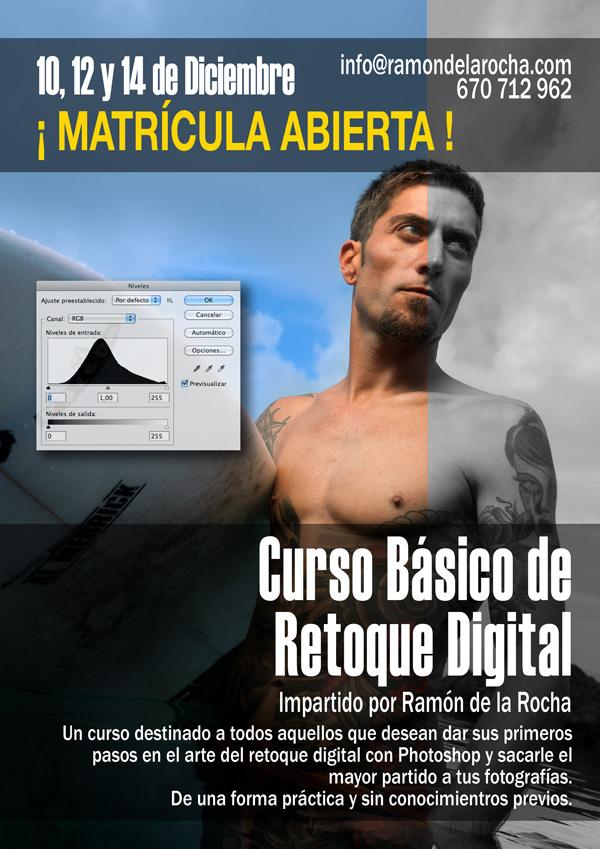 Curso Básico de Retoque Digital con Photoshop