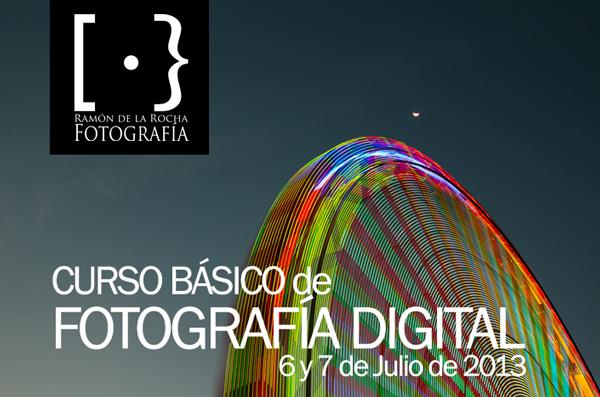 Curso Básico de Fotografía Digital en Tenerife. 6 y 7 de julio de 2013