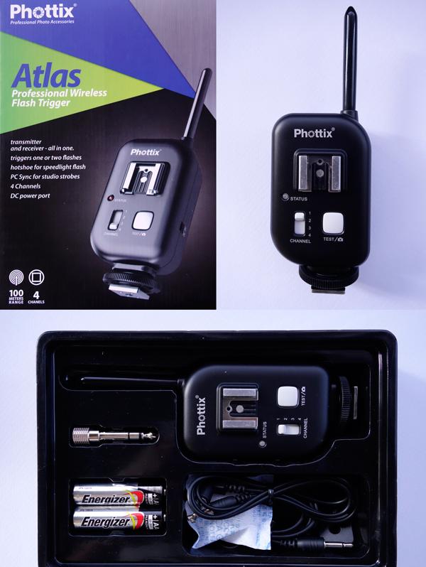 Transmisor y receptor Phottix Atlas