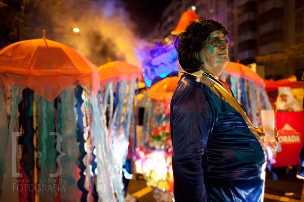 Cabalgata anunciadora del Carnaval de Santa Cruz de Tenerife © Ramón de la Rocha