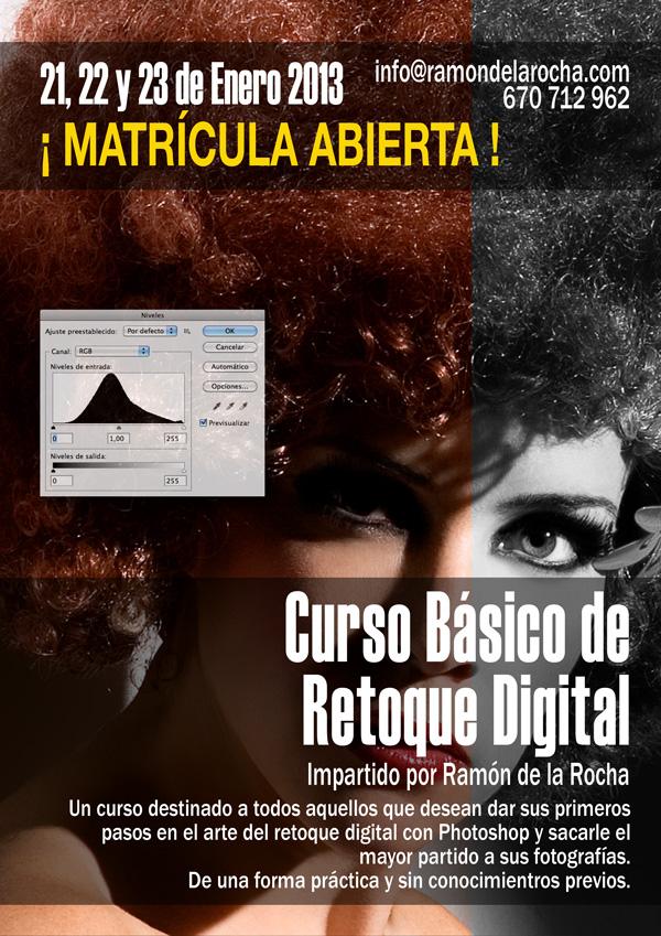 Curso Básico de Retoque Digital con Photoshop en Tenerife