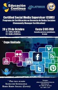 Certificacion Social Media Supervisor