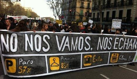 Emigración jovenes españoles