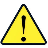 yellow sign exlamation