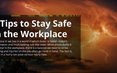 5 Tips to Stay Safe in the Workplace [infographic]