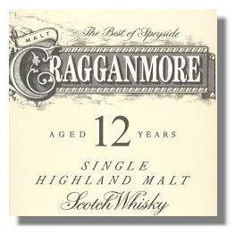 Cragganmore 12 Label