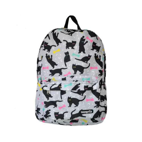 Backpack Cats and Bows