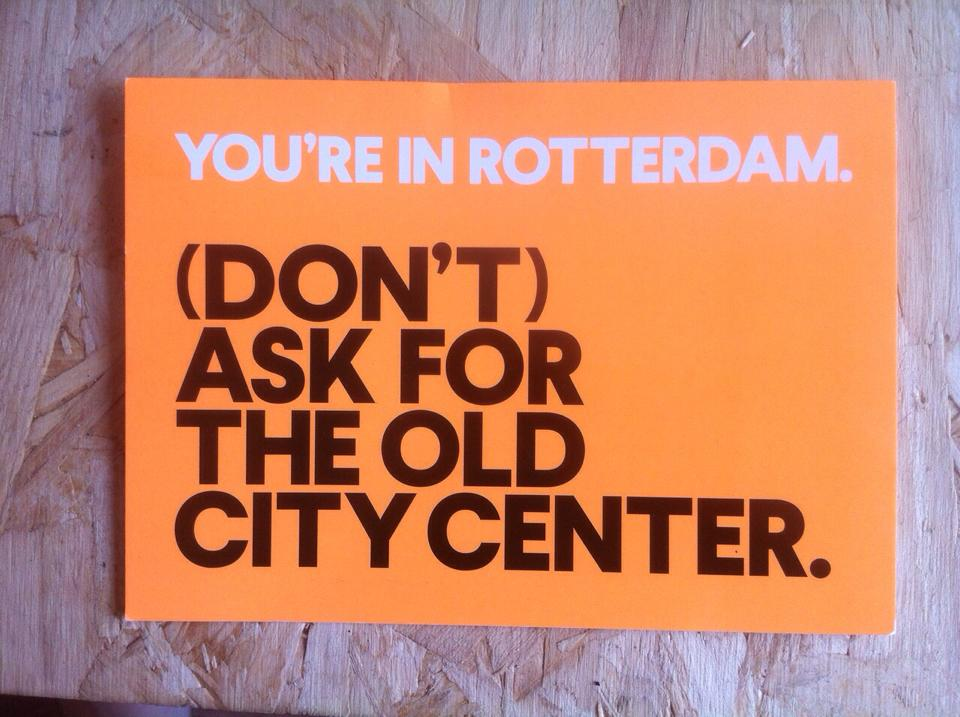 Postcard by Aida Bilajbegovic (Rotterdam Through the Eyes of a Disaster)