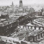 Rotterdam Exterieur OVERZICHT NA BOMBARDEMENT (OORLOGSSCHADE) by Rijksdienst voor het Cultureel Erfgoed